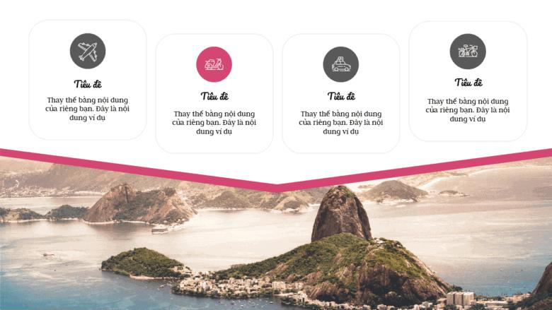 Mẫu trình chiếu về du lịch