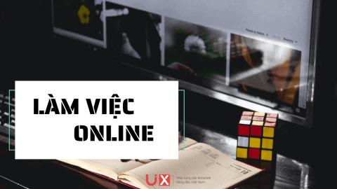 Làm việc online