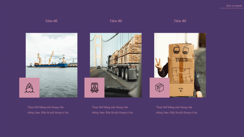 Dịch vụ Logistic