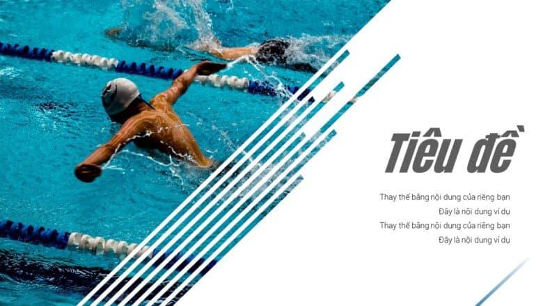 Mẫu trình chiếu bơi lội